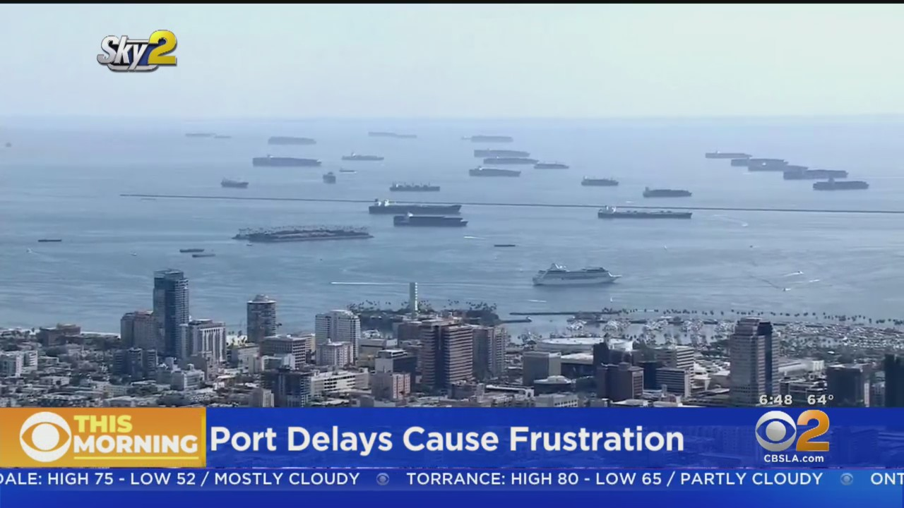Cargo Ships Continue To Multiply Off LA, Long Beach Ports