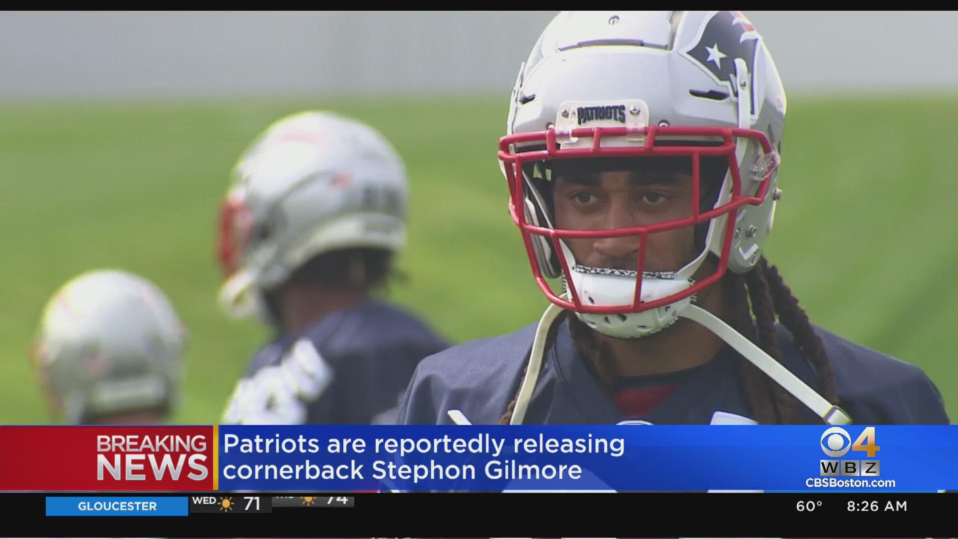 Patriots Reportedly Release Cornerback Stephon Gilmore - CBS Boston