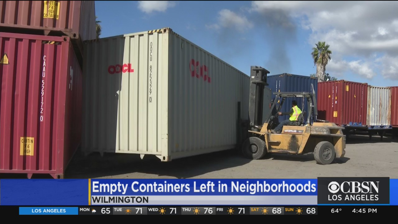 Shipping Containers That Spent Weeks Aboard Ships Stuck At Ports Now Being Dumped In Nearby Neighborhoods